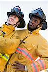 Portrait of firefighters Stock Photo - Royalty-Free, Artist: MonkeyBusinessImages, Code: 400-04036475