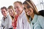 Four businesspeople sitting indoors smiling Stock Photo - Royalty-Free, Artist: MonkeyBusinessImages, Code: 400-04041883