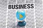 global business news on top. press information Stock Photo - Royalty-Free, Artist: casaalmare, Code: 400-04042586