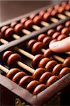 Close-Up Of Abacus Stock Photo - Royalty-Free, Artist: MonkeyBusinessImages, Code: 400-04048253