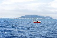 sailing boat storm - Boat is saling on the waves, Norway Stock Photo - Royalty-Freenull, Code: 400-04065834