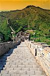 great wall background Stock Photo - Royalty-Free, Artist: tiero, Code: 400-04066460