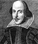 Engraving of William Shakespeare Stock Photo - Royalty-Free, Artist: claudiodivizia, Code: 400-04066800