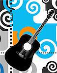 guitar Stock Photo - Royalty-Free, Artist: james2000, Code: 400-04068863