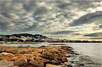 The city of Cannes in the French Riviera, during a cloudy morning Stock Photo - Royalty-Free, Artist: akarelias, Code: 400-04078437