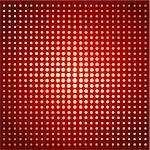 Gradient background with different dots on red Stock Photo - Royalty-Free, Artist: BooblGum, Code: 400-04079921