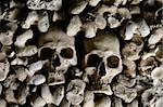 Human skulls covering the walls of the Bones Chapel, Evora, Portugal  Stock Photo - Royalty-Free, Artist: mrfotos, Code: 400-04082489