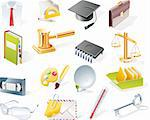 Set of colorful and bright icons Stock Photo - Royalty-Free, Artist: tele52, Code: 400-04109407