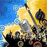 music background Stock Photo - Royalty-Free, Artist: james2000, Code: 400-04113107