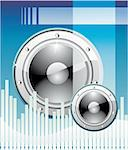 Equalizer Disco Music event Background Stock Photo - Royalty-Free, Artist: DavidArts, Code: 400-04114492