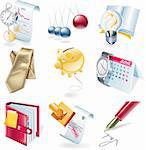 Set of business related icons Stock Photo - Royalty-Free, Artist: tele52, Code: 400-04117684