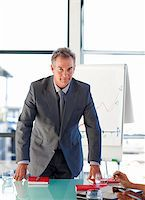 Confident mature businessman in office looking at the camera Stock Photo - Royalty-Freenull, Code: 400-04119614