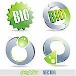 Green Icons And Symbols