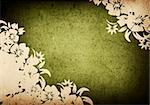 floral style backgrounds frame Stock Photo - Royalty-Free, Artist: ilolab, Code: 400-04152097