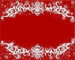 Vector Christmas (New Year) frame for design use Stock Photo - Royalty-Free, Artist: angelp, Code: 400-04159149