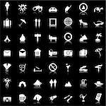 Travel set of different vector web icons Stock Photo - Royalty-Free, Artist: angelp, Code: 400-04159240