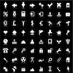 Biggest collection of different icons for using in web design Stock Photo - Royalty-Free, Artist: angelp, Code: 400-04160712