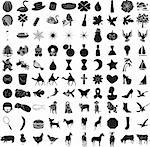 100 Icon Set 2 Stock Photo - Royalty-Free, Artist: BasheeraDesigns, Code: 400-04161372