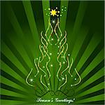 Christmas tree Stock Photo - Royalty-Free, Artist: balasoiu, Code: 400-04162190