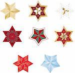 Christmas stars Stock Photo - Royalty-Free, Artist: balasoiu, Code: 400-04162215