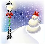 Christmas lantern Stock Photo - Royalty-Free, Artist: balasoiu, Code: 400-04162250