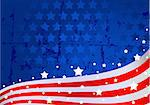 An American flag background Stock Photo - Royalty-Free, Artist: Dazdraperma, Code: 400-04177073