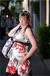 Uncomfortable pregnant woman outside on the street Stock Photo - Royalty-Free, Artist: creatista, Code: 400-04194253