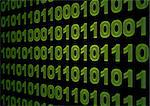 Internet concept - screen with binary code Stock Photo - Royalty-Free, Artist: megnomad, Code: 400-04194819