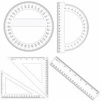Vector set of different ruler types. Centimeter and inch measurement are at scale. Contains EPS file compatible with Illustrator 10. Stock Photo - Royalty-Freenull, Code: 400-04206563