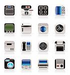 Home and Office, Equipment Icons - Vector Icon Set Stock Photo - Royalty-Free, Artist: stoyanh, Code: 400-04212622