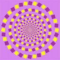 Abstract design with geometric shapes optical illusion illustration Stock Photo - Royalty-Freenull, Code: 400-04214718