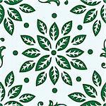 Seamless Gothic Damask Background. EPS 8 vector file included