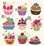 cartoon cake Stock Photo - Royalty-Free, Artist: notkoo2008, Code: 400-04242253