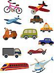cartoon transportation icon Stock Photo - Royalty-Free, Artist: notkoo2008, Code: 400-04242255
