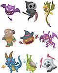 monster doodle Stock Photo - Royalty-Free, Artist: notkoo2008, Code: 400-04242274