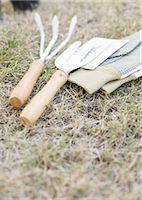 Gardener's tools Stock Photo - Premium Royalty-Freenull, Code: 670-04249393
