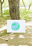 Drawing of globe and trees Stock Photo - Premium Royalty-Free, Artist: Ron Stroud, Code: 670-04249515