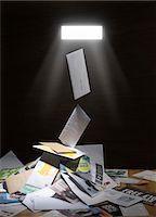 shaft - Junk mail Stock Photo - Premium Royalty-Freenull, Code: 679-04249998