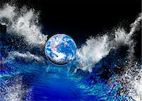 End of the World, conceptual artwork Stock Photo - Premium Royalty-Freenull, Code: 679-04250775