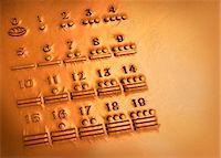 Maya numerals, artwork Stock Photo - Premium Royalty-Freenull, Code: 679-04250780