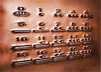 Maya numerals, artwork Stock Photo - Premium Royalty-Freenull, Code: 679-04250782