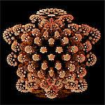 Mandelbulb fractal Stock Photo - Premium Royalty-Free, Artist: Science Faction, Code: 679-04251368