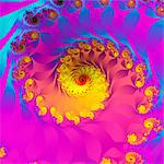 Julia fractal Stock Photo - Premium Royalty-Free, Artist: photo division, Code: 679-04251371