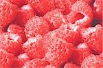 Fresh tasty raspberries background Stock Photo - Royalty-Free, Artist: tetkoren                      , Code: 400-04259660