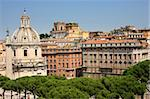 Traian column and Santa Maria di Loreto in Rome, Italy Stock Photo - Royalty-Free, Artist: vladacanon                    , Code: 400-04259985