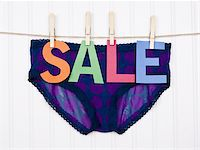 Vibrant Image for Your Next SALE Purple Panties. Stock Photo - Royalty-Freenull, Code: 400-04263617