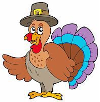 Thanksgiving turkey with hat - vector illustration. Stock Photo - Royalty-Freenull, Code: 400-04267991