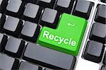 stop pollution for environmental protection with recycling Stock Photo - Royalty-Free, Artist: gunnar3000                    , Code: 400-04271649