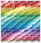 colourful abstract banner in rainbow color Stock Photo - Royalty-Free, Artist: BooblGum                      , Code: 400-04271945