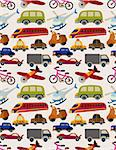 seamless transport pattern Stock Photo - Royalty-Free, Artist: notkoo2008                    , Code: 400-04273602